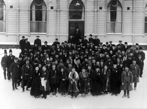 Etablering av sameforeninger og det første samelandsmøtet 1917